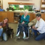 Tiergestützte Therapie, Tiergestützt Altenheim, Tiertraining