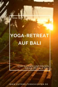 Yoga-Retreats auf Bali gibt es an jeder Ecke. Die Nachfrage ist rießig und die verlangten Preise auch. Letztendlich habe ich ein Retreat in einem schönen Dorf ab vom Tourismus und ab von den Tourismuspreisen gefunden. Meine Zeit im Retreat war mein Highlight meines ganzen Baliaufenthaltes.